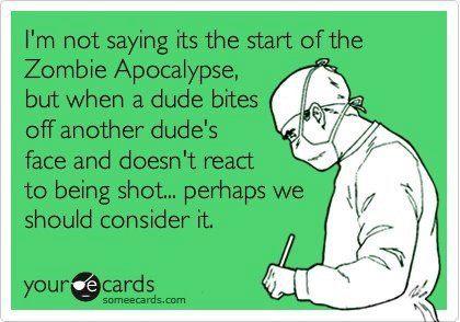 Zombie-Humor